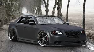 black chrysler 300 with blue stripe dream cars pinterest