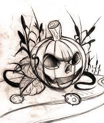 Pumpkin Tattoo Designs