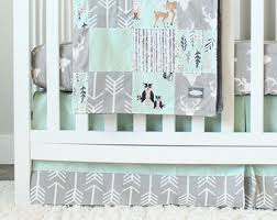 Baby Nursery Bedding Sets Neutral Neutral Crib Bedding Etsy