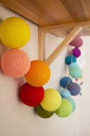 Rose Lights String by Best 10 Cotton Ball Lights Ideas On Pinterest Ball Lights