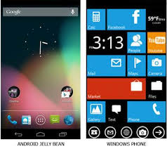 android for windows the difference between android and windows phone