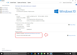 how to check if windows 10 is genuine or not