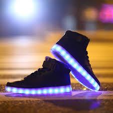 light up shoes for adults men unisex high tops light up shoes black neonjam london