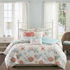 Beachy Bed Sets Park Pebble 6 Cotton Duvet Cover