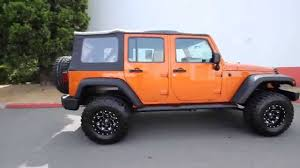 orange jeep wrangler unlimited for sale 2010 jeep wrangler unlimited sport off road orange al211504