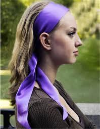 silk headband l erickson silk headband