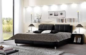 Schlafzimmer Betten Rund Schwarzes Polsterbett Mit Verstellbarem Kopfteil Carisio