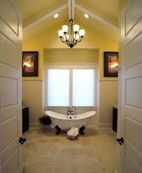 glamorous claw foot tub convention burlington traditional bathroom