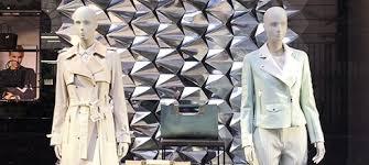 boutique femme idées décoration pour magasin de mode femme stickers vitrines