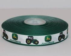 deere ribbon deere ribbon 7 8 3 yards 7 yard length available
