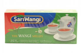 Teh Melati teh celup wangi melati 50 gram fragrant tea bags 25 ct 2 gr
