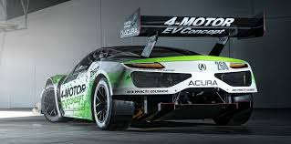 honda supercar concept honda nsx based ev concept to race in 2016 pikes peak hill climb