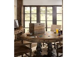 hill country dining room hooker furniture hill country castle hills 60in game table with