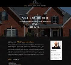 Home Inspection Template by Home Inspection Website Templates And Home Inspection Web Design