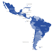 Blank South And Central America Map by Centre For Geopolitics U0026 Security In Realism Studies Latin America
