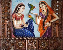 26 best painting canvas images on pinterest indian paintings