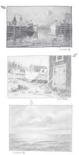 the importance of a value study for watercolor paintings