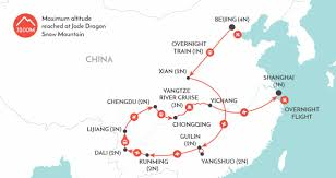 Guilin China Map by China The Big One China Discovery Tour Wendy Wu Tours