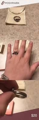 avery heart knot ring avery heart knot ring heart knot avery and knot rings