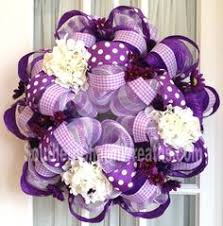 White Deco Mesh Pink And Lavender Deco Mesh Wreath With Cupcakes And A Lollipop