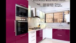 Kitchens Interiors Modular Kitchen Thrissur Kerala Contact 9400490326 Youtube