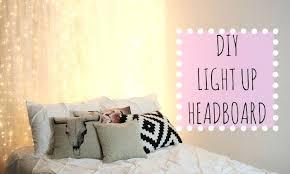 diy headboard with led lights diy headboard with led lights wooden headboard with lights