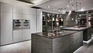Luxury Kitchen Furniture Design Line Kitchens Luxury Kitchen Showroom Project Grey