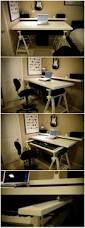 Creation Station Studio Desk by Ikea Based Home Studio Desk For 88 Keys Digital Piano Piano