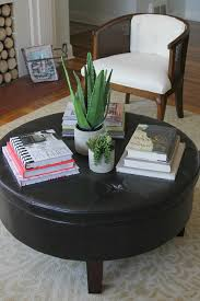 Round Trays For Coffee Tables - remarkable trays for coffee tables ottomans u2013 tray style coffee
