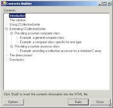 table of contents generator html table of contents generator codeproject