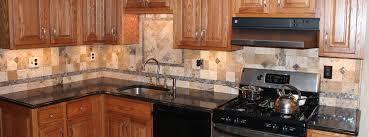 Natural Stone Backsplash Tile by Kitchen Backsplash New Jersey Custom Tile