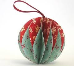 origami christmas ornaments apartment therapy