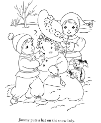 winter hat coloring pages free printable winter coloring pages for kids