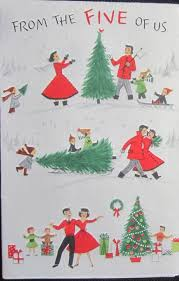 411 best christmas cards family vintage images on pinterest