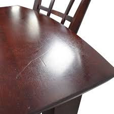 high table with four chairs 48 off high top dining table with four chairs tables