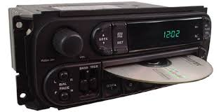 dodge durango stereo 2001 2002 dodge durango factory stereo cd player oem radio w