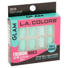 glam l a colors fashion nails short length cnt29 artificial nails