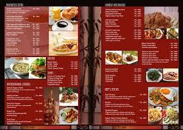 restaurants menu templates free restaurant menu template vector