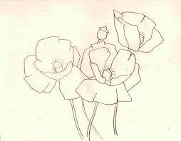 watercolour poppy demo u2013 alison fennell art