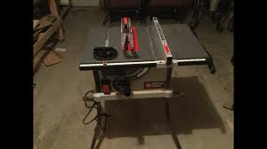 porter cable table saw review porter cable table saw review pcx362010 youtube
