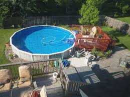 above ground pool landscaping design ideas above ground pool