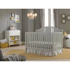 Convertible Cribs Walmart by Fisher Price Caitlin 4 In 1 Convertible Crib Misty Gray Walmart Com