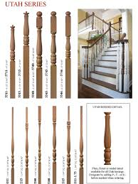 Parts Of A Banister Stair Parts Burke Banisters U0026 Stairways Custom Stair Parts