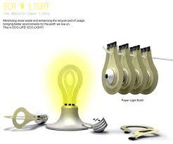 eco friendly light bulbs eco light recycle eco friendly paper light bulb