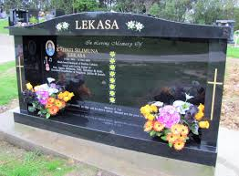 headstones and memorials saddle temple set headstone auckland crafted memorials