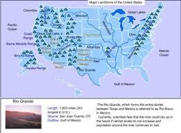 map us landforms landforms
