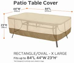 Patio Table Covers Rectangular 20 Best Of Rectangle Patio Table Covers Best Home Template