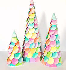 candy christmas tree diy candy christmas cone trees