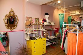 Shop In Shop Interior Designs by Bubbles Vintage Fashion Boutique In Harajuku