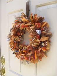 fall ribbon best 25 fall ribbon wreath ideas on burlap wreaths
